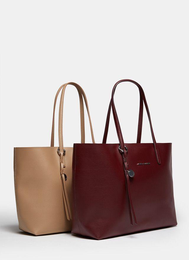 320dadd95 Shopper horizontal con cartera - Para ella
