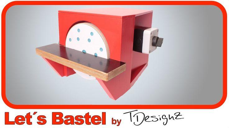 Tellerschleifer selber bauen | Eigenbau Tellerschleifmaschine | Anleitun...