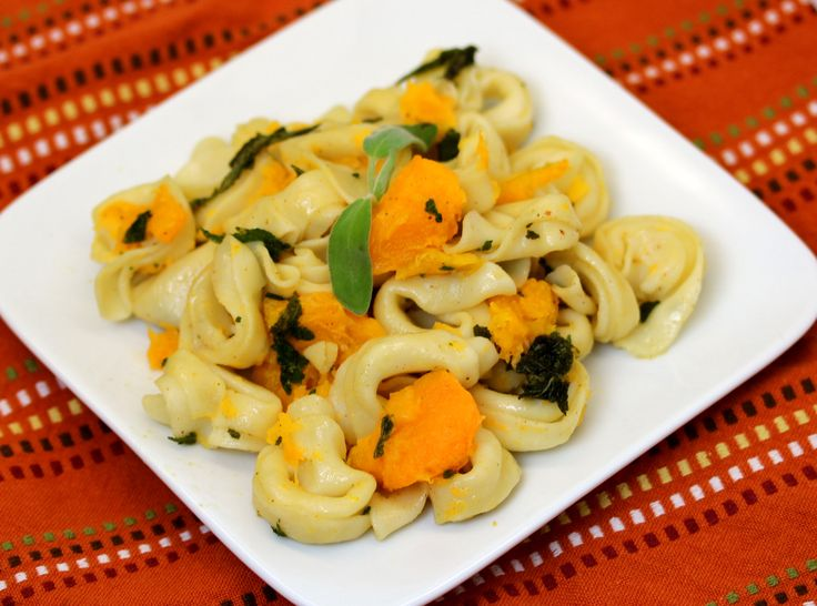 Butternut Squash and Sage Brown Butter with Tortellini