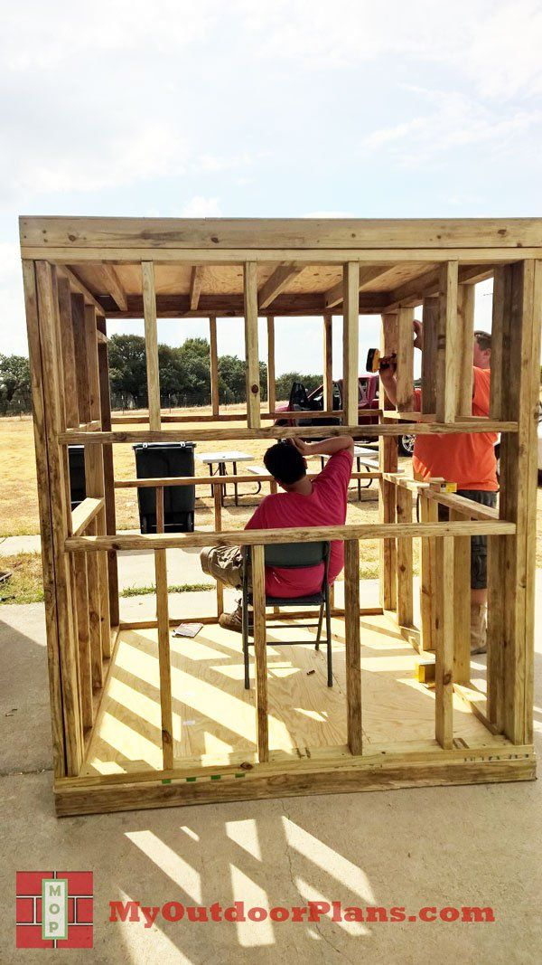 Diy Deer Blind Myoutdoorplans Free Woodworking Plans And Projects Diy Shed