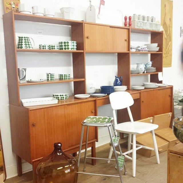 Teakbokhylla till salu | Vintage Corner
