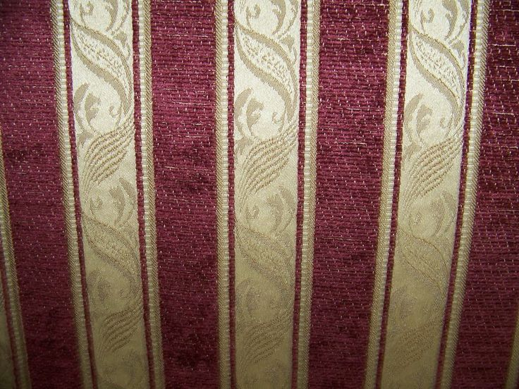 8 Best Images About Burgundy Striped Fabric On Pinterest