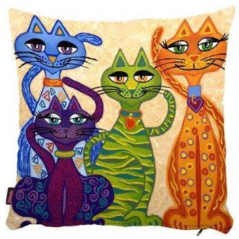 Decorative Pillow Special Pet Pillow Cat by ACCESSORIESBENGU