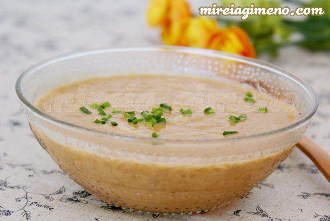 Crema de lentejas, mijo y amaranto - receta vegana
