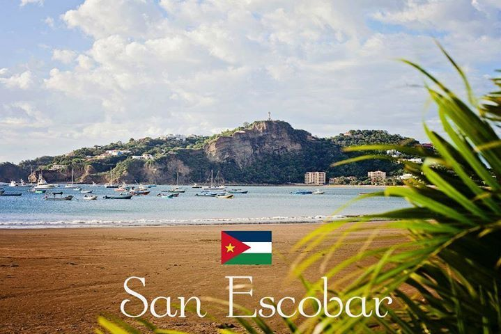 They're advertising the wrong beach in the wrong city in the wrong country with this image.... It's actually San Juan del Sur in Nicaragua.