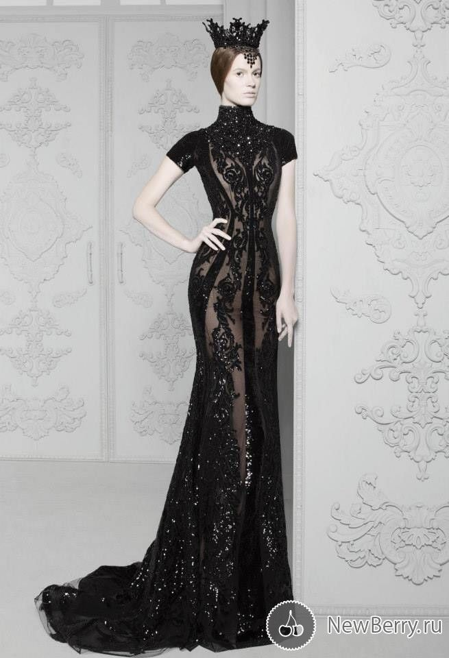 The Look: Michael Cinco Haute Couture 2014 #raven queen