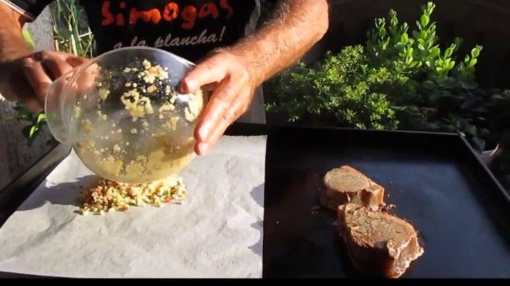 Steak de thon en croûte à la plancha avec méli-mélo de légumes. Merci à @hellyane83   pour cette recette. https://www.youtube.com/watch?v=AWtt4I4SGQQ