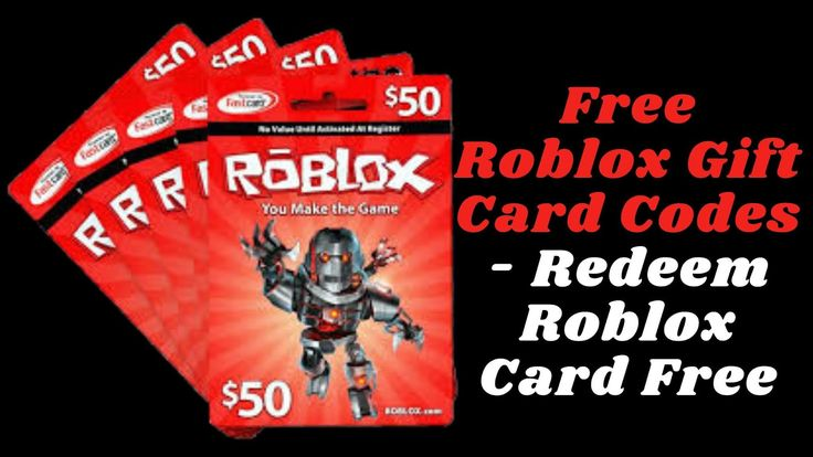Get free roblox gift card code and buy anything for free