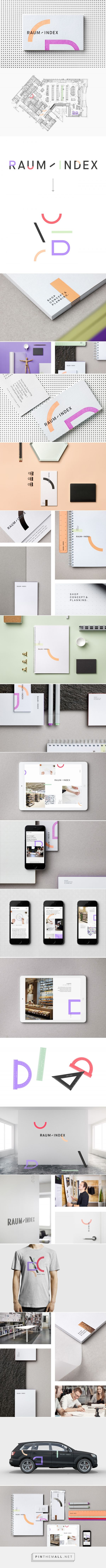 Raumindex - Branding on Behance... - a grouped images picture - Pin Them All