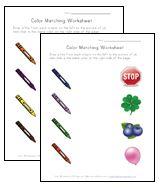 Teach Children Colors - Printable Color Worksheets   Kids Learning Station