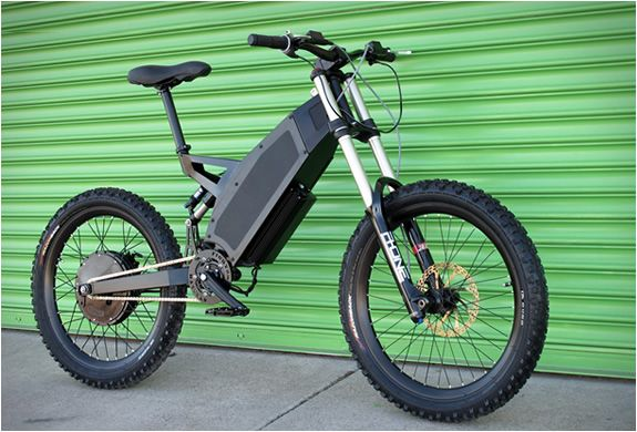 Stealth Hurricane electric mountain bike