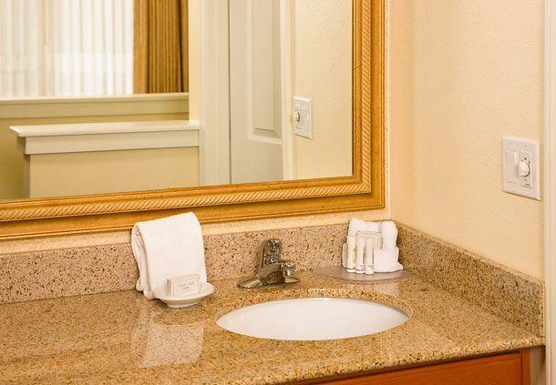 Residence Inn San Diego Mission Valley Suite Vanity Holiday Happy Enjoying