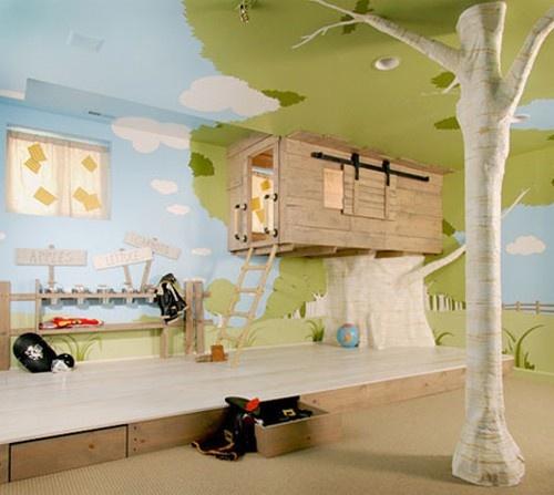 Fun expressive playroom!