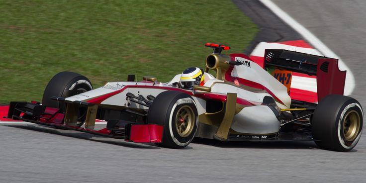 2012 HRT F112 - Cosworth (Pedro de la Rosa)