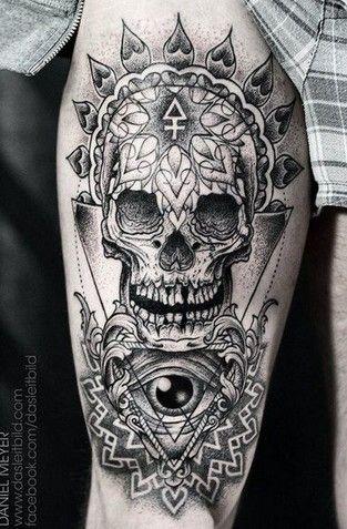 20 tatouages hors du commun en noir et blanc pour faire le plein d 39 id es impressionnant - Tattoo en commun ...