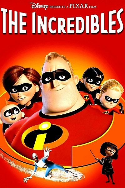 The Incredibles (2004)-My Favorite Superhero Films
