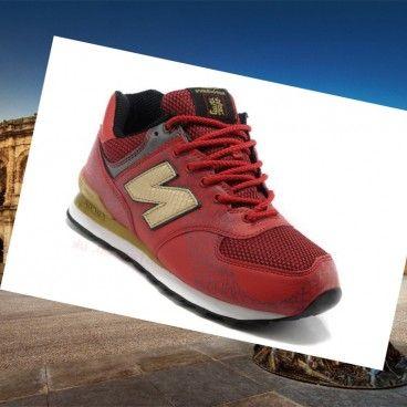 new balance 574 nero oro
