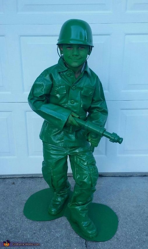 toy soldier from toy story halloween costume contest at