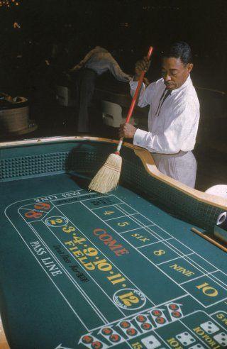 Las Vegas casino, 1955