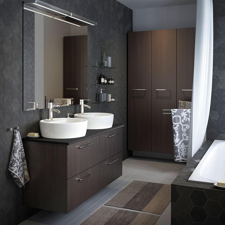 35 best Badezimmer Interior images on Pinterest Bathroom, Half - bild für badezimmer