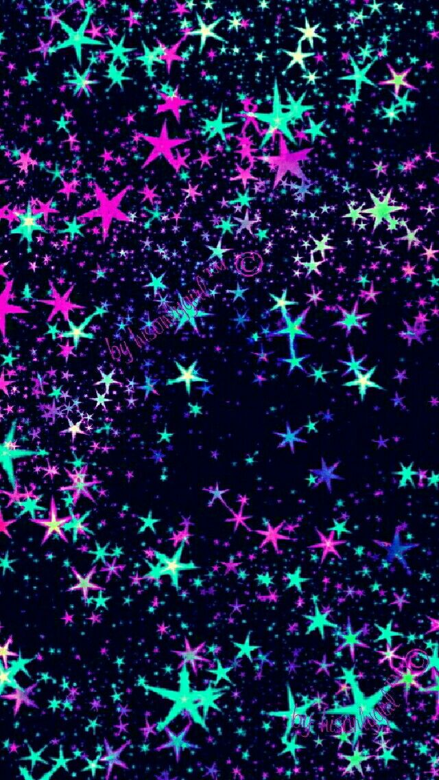 Star light, start bright galaxy wallpaper I created for the app CocoPPa.