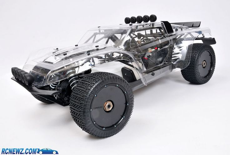 Another shot of the MCD W5 large scale RC short course truck