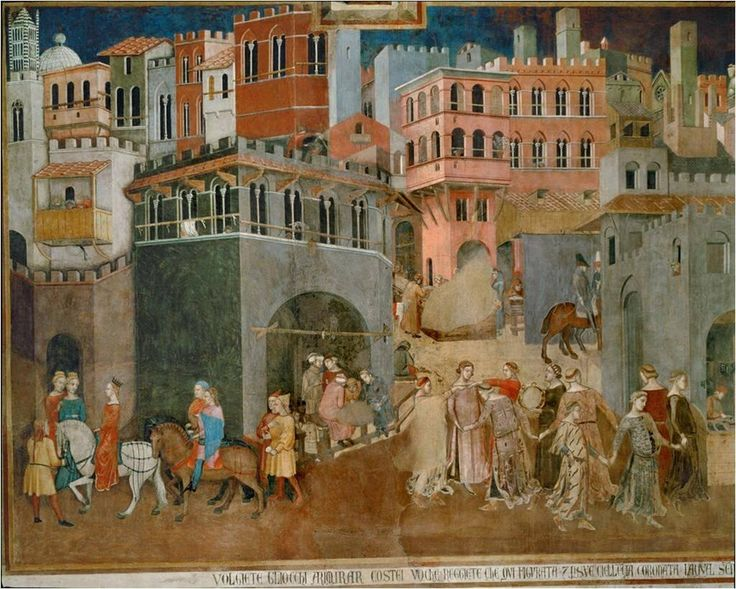 analysis of ambrogio lorenzetti allegory of good government This paper focuses on the intricate allegory of ambrogio lorenzetti's good government mural in the council hall of the nine executive magistrates of the state of siena in the city's palazzo pubblico.