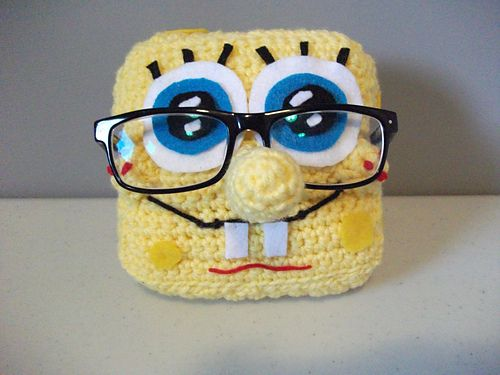 Ravelry: carmic5's SpongeBob Eyeglasses Holder