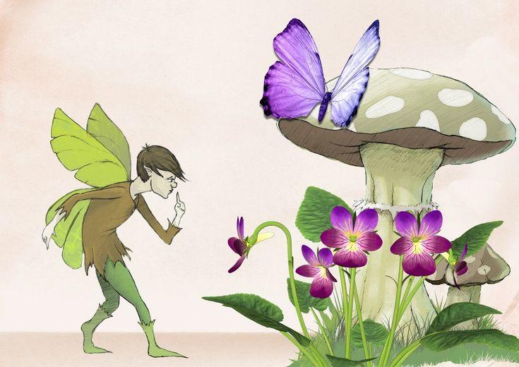 Naturväsen: Älvor / feer | Eliademy