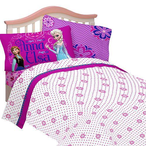"disney frozen comforter sets | Disney's Frozen Sister Love Full Sheet Set - Franco Mfg - Babies""R""Us"