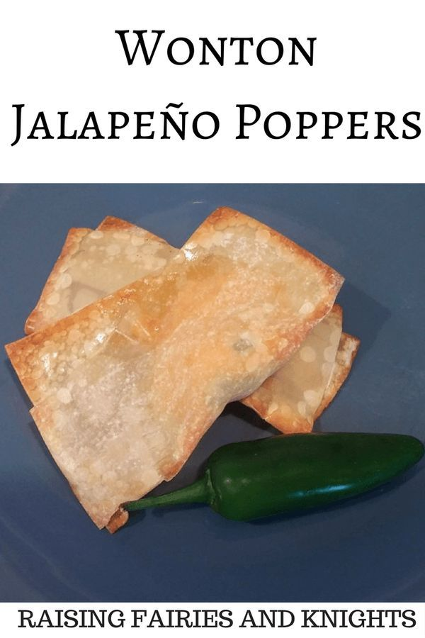 Wonton Jalapeno Poppers - Jalapeno Poppers are the BEST! Try this healthier (and weight watcher friendly) version of wonton jalapeno poppers where you bake and not fry.