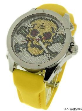 Jacob & Co. JCMSKULL1 Five Time Zone Diamond Watch