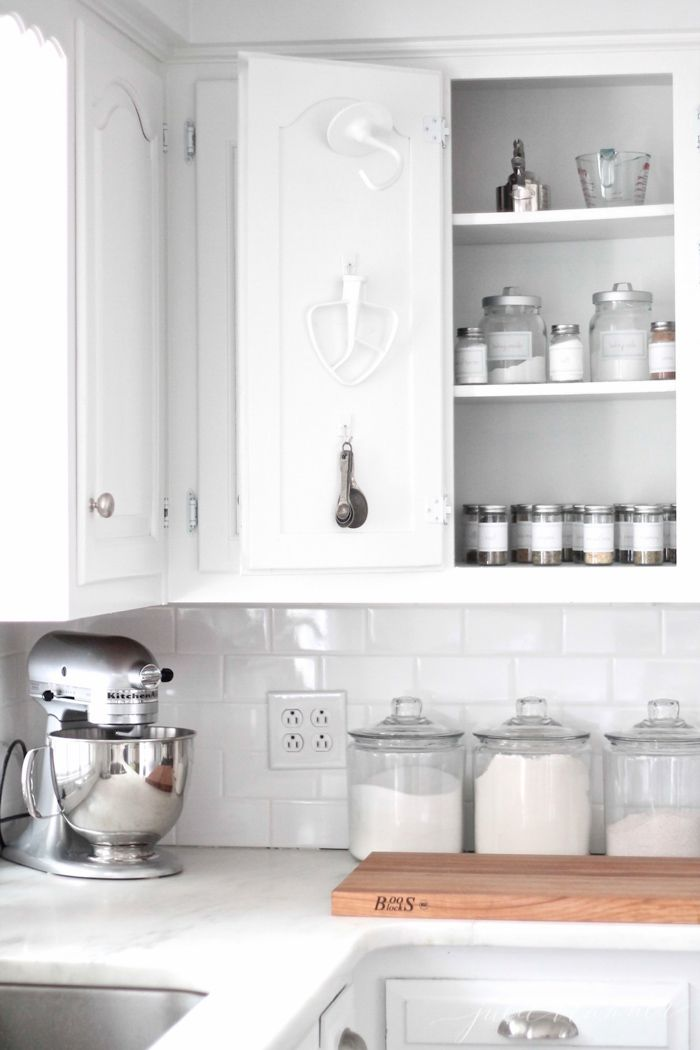 organize your kitchen cabinets with these easy tips