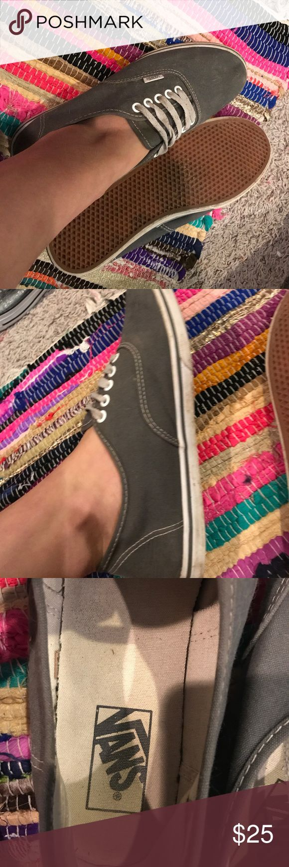 Vans ladies shoes grey Vans ladies shoes size 9 Vans Shoes Sneakers