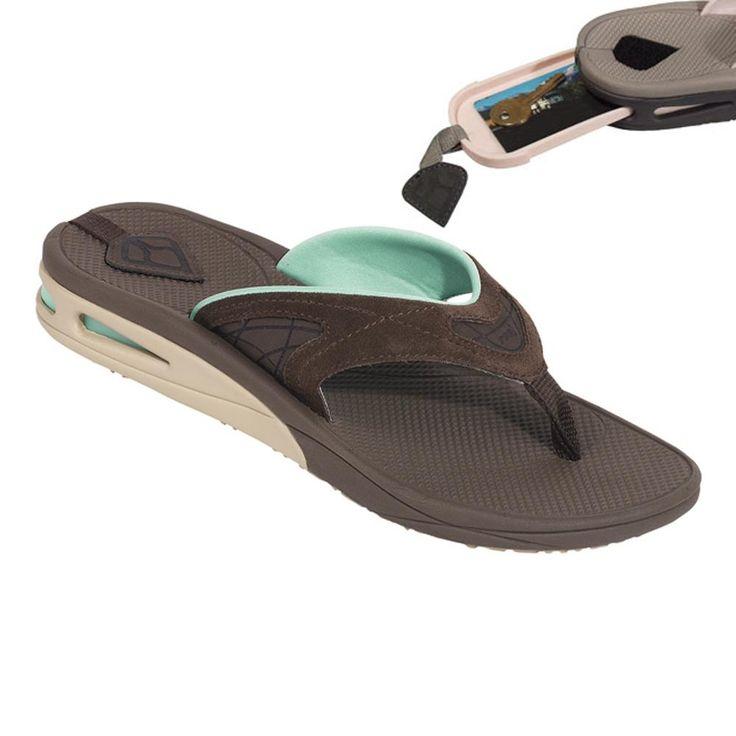 Unisex Non-slip Flip Flops LOS Angel Blue Thin Line Cool Beach Slippers Sandal