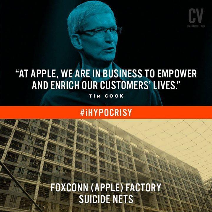 #Apple #iHypocracy #Cina #Foxconn #Suicide #Evil #Capitalism
