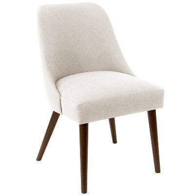 Geller Modern Dining Chair Talc Linen Project 62 In 2019