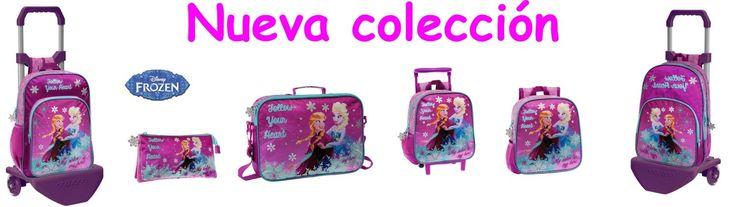 Nueva coleccíon escolar Frozen Anna & Elsa