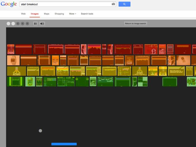 Play Atari's Breakout now on Google image search (http://www.google.com/images) - just type in 'atari breakout'! #Atari 37th #Anniversary