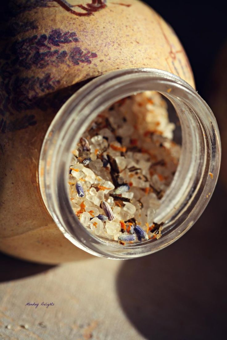Соль с розмарином, лавандой и апельсиновой цедрой » Рецепты » Кулинарный журнал Насти Понедельник. Кулинарные рецепты с фото.