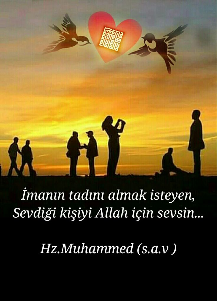 Allah için sev