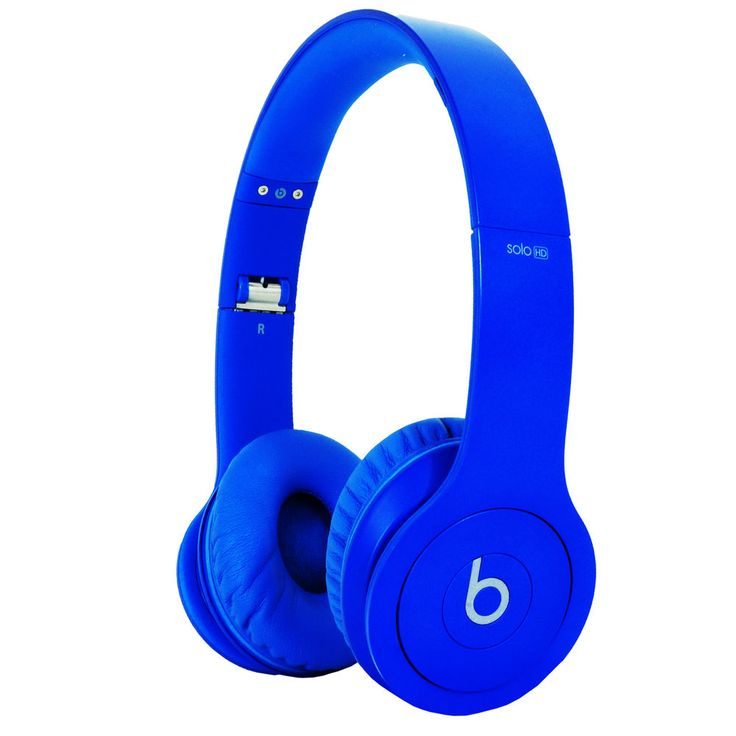 Beats By Dre Solo HD Compact Folding On Ear Headphones - Drench In Blue #BeatsbyDrDre #OnEar because sometimes you just need to relax to some smooth jazz without being disturbed with headphones that are your favorite color until creativity comes to you