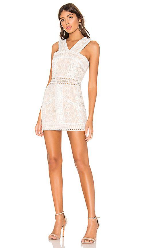 65962cd9dd0 Pauline High Neck Dress in White