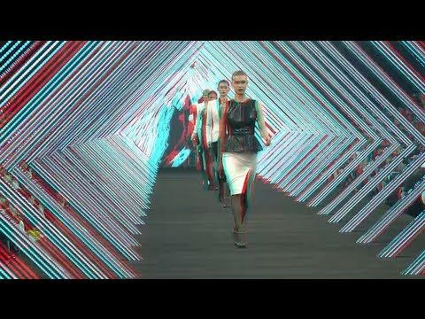 watch this in 3D with Pic3D-II iPhone 4/4s!! BOSS Black Fashion Show Beijing Fall/Winter 2012 3D HD