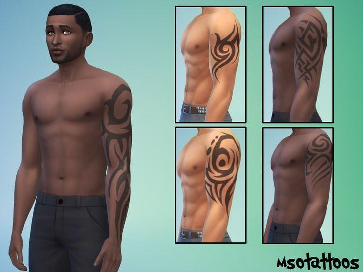 luvjake's 5 Tribal Arm Tattoos