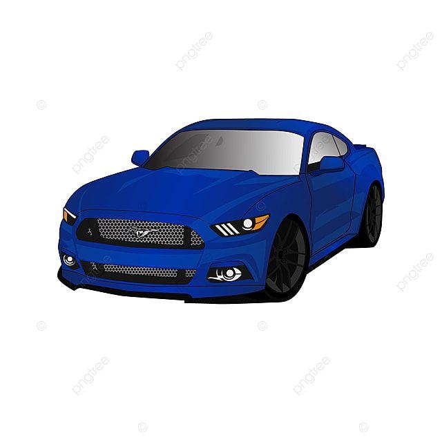 Ilustracao Do Carro Mustang Clipart Do Carro Png Carro Vetor De Carro Imagem Png E Vetor Para Download Gratuito Car Illustration Car Icons Car Silhouette