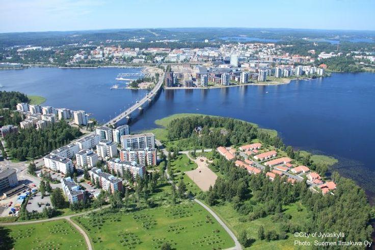 Jyväskylä. ©City of Jyväskylä Photo: Suomen Ilmakuva Oy