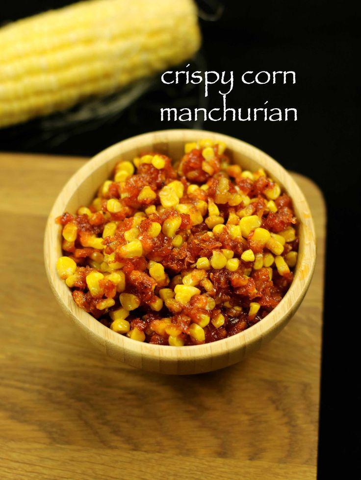 crispy corn recipe   crispy corn manchurian recipe - http://hebbarskitchen.com/crispy-corn-recipe-crispy-corn-manchuri/