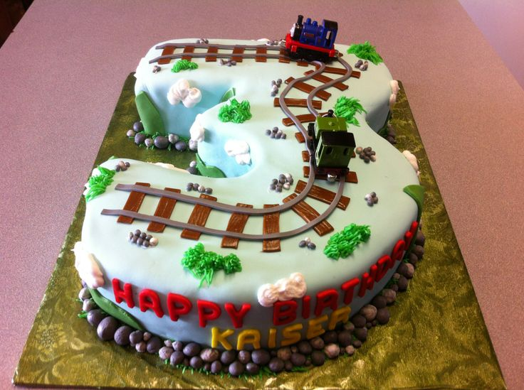 Thomas The Train 3rd Birthday Cake Holdens Pinterest