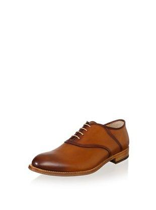 69% OFF Antonio Maurizi Men's Plain Toe Dress Shoe (Cognac)